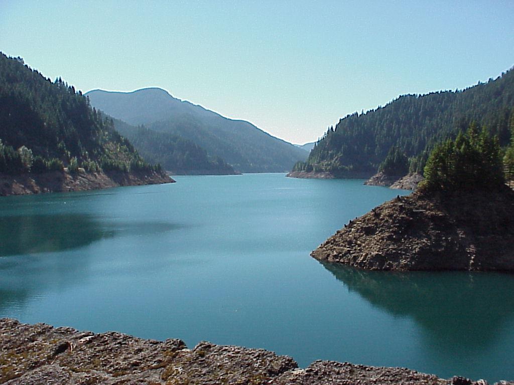 Second stop - Cougar Lake