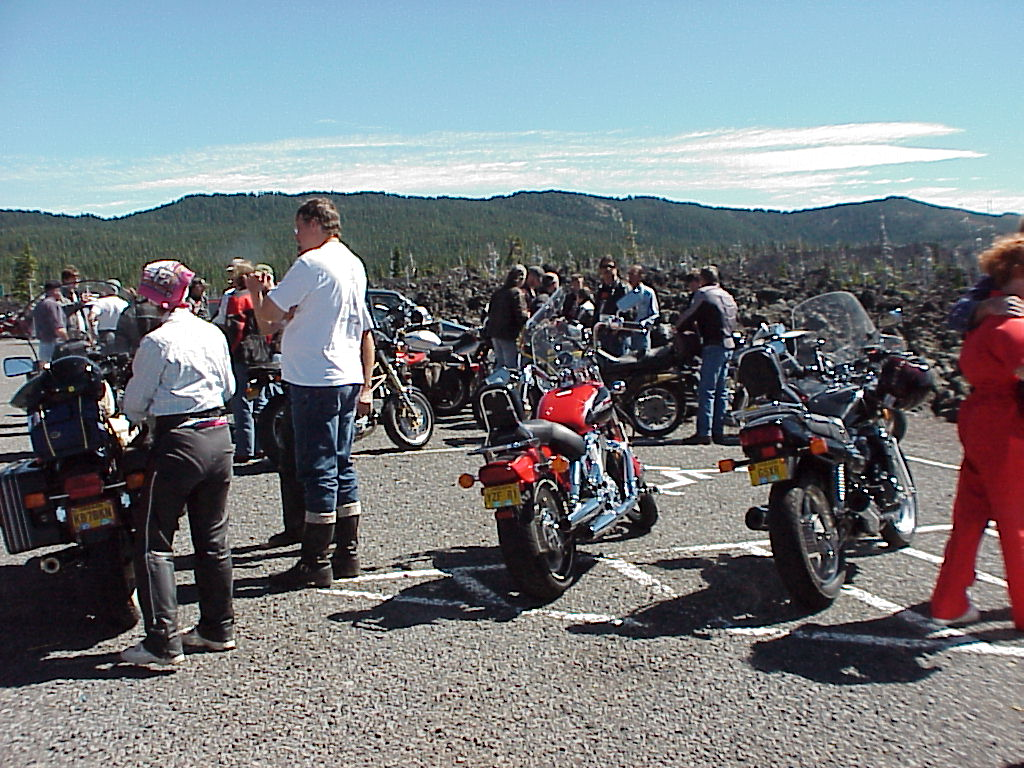 More bikes and riders at Observatory