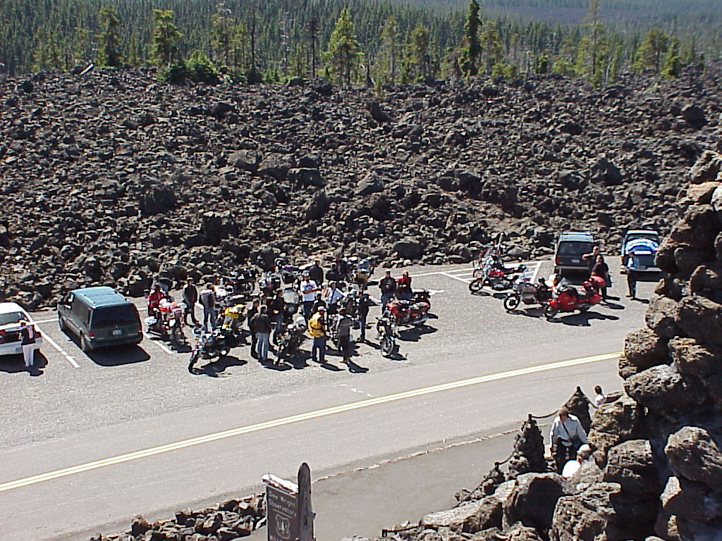 More bikes and riders from the top