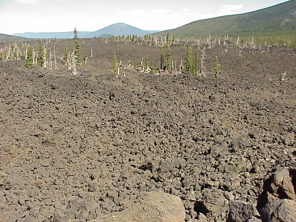 Scenery - Lava flow, Black Butte